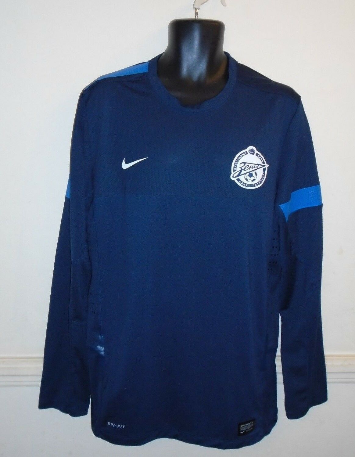Zenit St Petersburg Long Sleeves Shirt xl men's New Without Tags D
