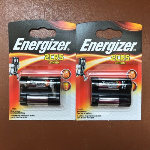 Energizer 2CR5 6V Lithium Photo Battery DL245 245 LONGEST EXPIRY DATE
