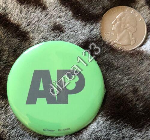 Disney Button DCA Halloween Time Green Week 3 AP Button