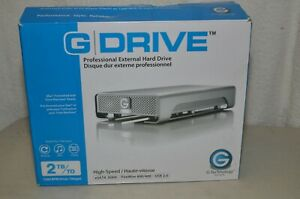 GDrive G-Technology Used Once #0G00203, Hard Drive 2TB