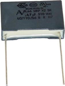 10 Condensateurs Mkp X2 220-230v 0,47µf 0.47µf 470nf 474k 474 K 310vac 22,5mm Uf Brrgzap3-07174904-382820980