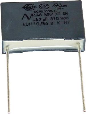 10 Condensateurs Mkp X2 220-230v 0,47µf 0.47µf 470nf 474k 474 K 310vac 22,5mm Uf Così Efficacemente Come Una Fata