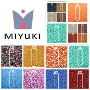 1200-Miyuki-Delica-11-Glass-Seed-Beads-11-0-Lots-7-2Grams-shinny-Matte-Opaque