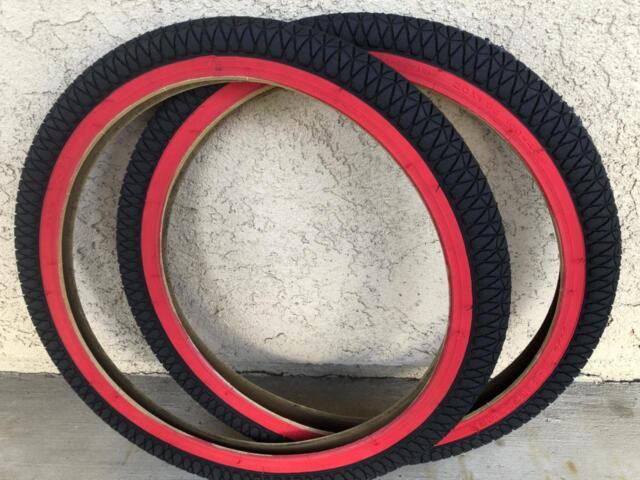 "2.25/"" BMX Bike Tires FreeStyle  Street 1 or 2PAK Kenda K841 Kontact 20/""x 1.95/"""