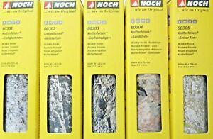 91-42-m-NOCH-Knitterfelsen-45-x-25-5-cm-60301-60302-60303-60304-60305