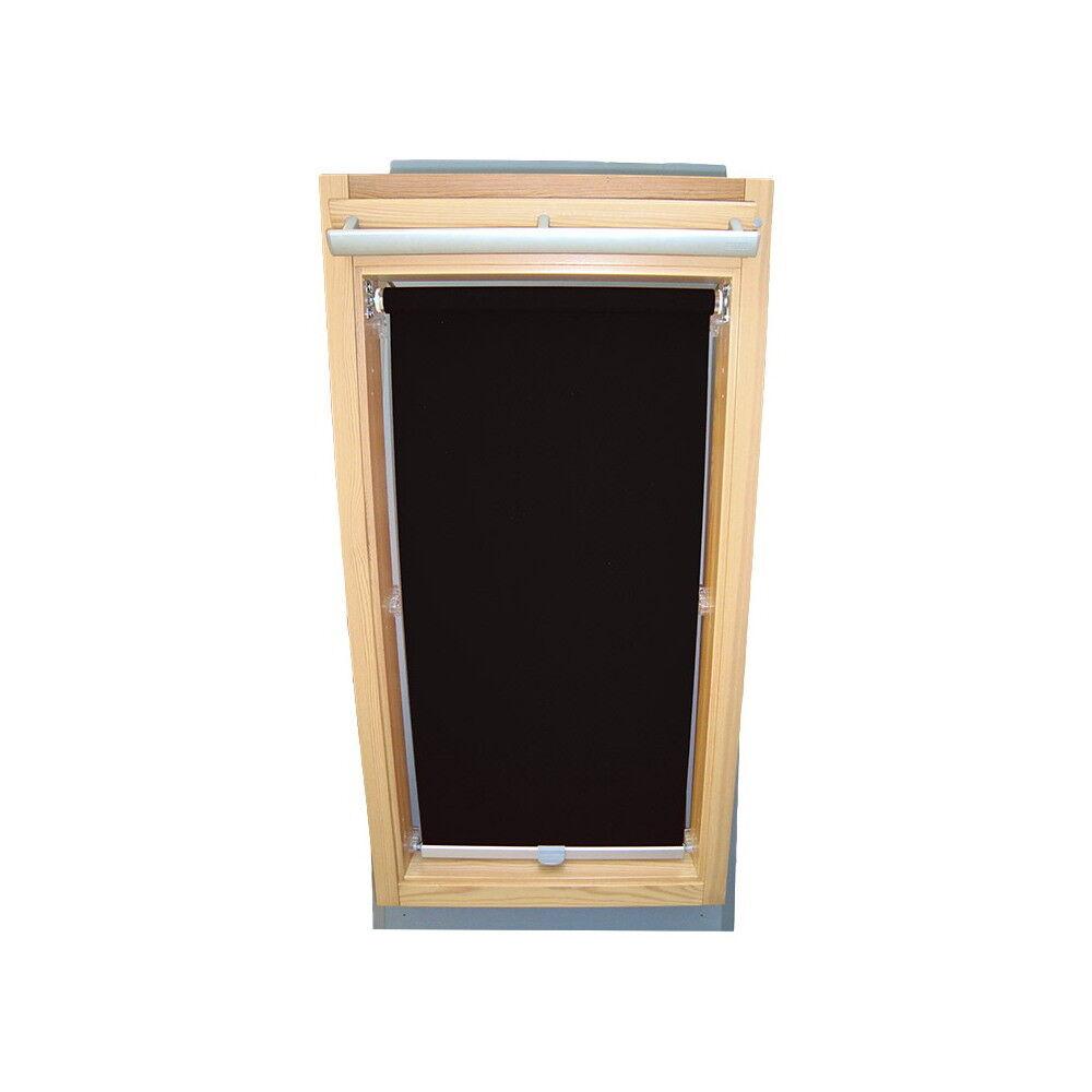Rollo Sichtschutz f. Roto Dachfenster WDF 310 - 319   320 - 329 - schwarz   Erste in seiner Klasse