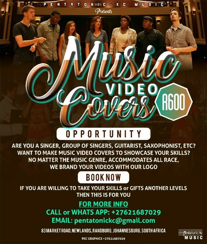 OPPORTUNITY FOR SINGERS, GUITARIST, SAXOPHONIST, etc