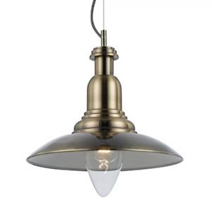 NEW Telbix Marion Industrial Style Metal Pendant Light - MARION-PE