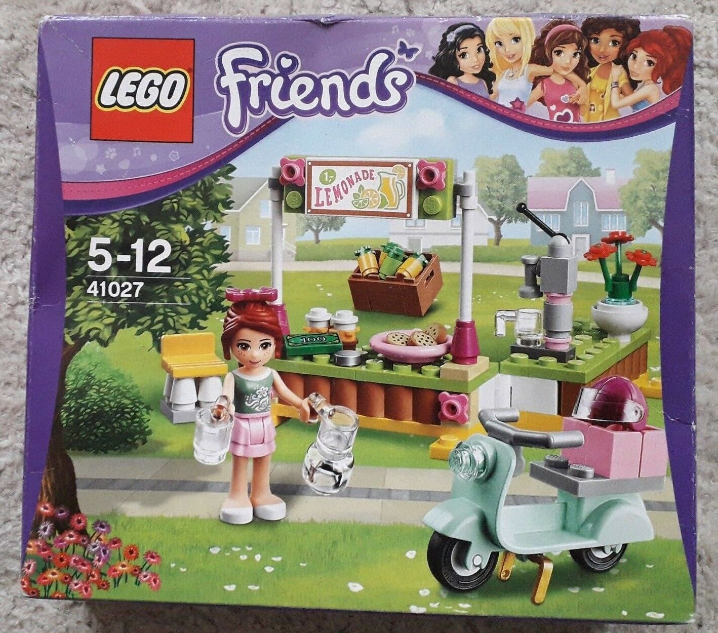 LEGO Friends Mia's Lemonade Stand  41027  Brand New In Sealed Box
