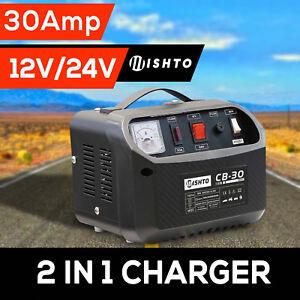2-in-1-Battery-Charger-12V-24V-30-Amp-240V-Car-ATV-Boat-4WD-Caravan-Motorcycle