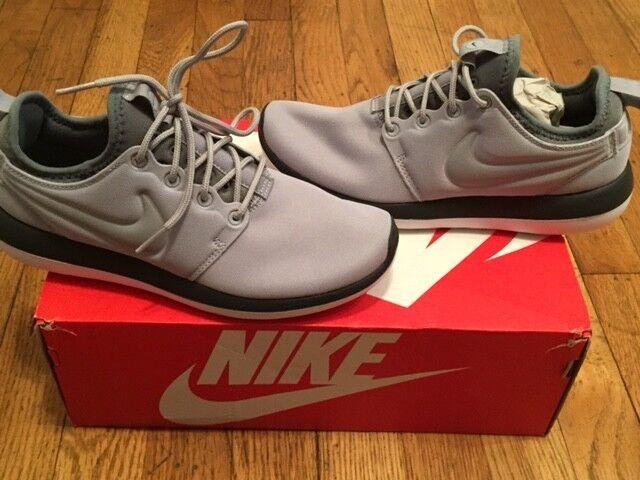 Nike Roshe Due Donne   Da Da Da Corsa Lupo Grigio Grigio Dimensioni 6 Nuovi W. 2c8085