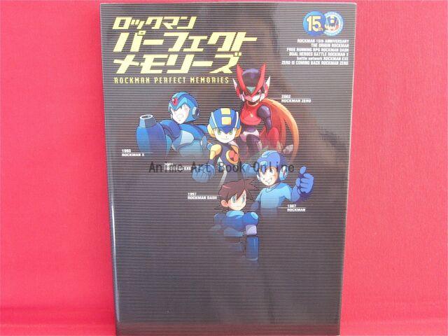 Megaman Rockman Memories Mega Man Game Art Book