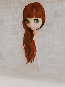 Takara 12 Blythe Nude Doll from Factory long pink hair