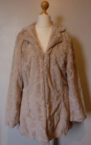 Mink gevoerd van £ Bnwt 79 jasje Rrp Large Pistache formaat volledig 99 imitatiebontjas 7HWIw