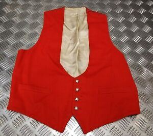 Genuine-British-ARMY-REME-Regiment-Officer-Mess-Waistcoat-Ceremonial-amp-Parade
