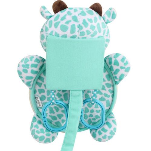 Cartoon Baby Crib Cot Pram Hanging Stroller Car Seat Mirror Pushchair Toy N7