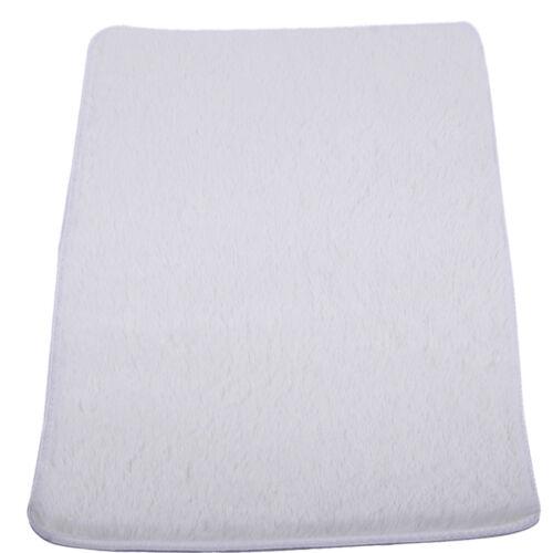 Absorbent Non-slip Soft Memory Plush Bathroom Bedroom Floor Mat Shower Rug