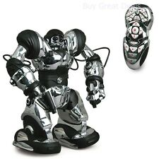 Robot Toy Wowwee Humanoid Remote Control Silver Chrome Full Function Robosapien