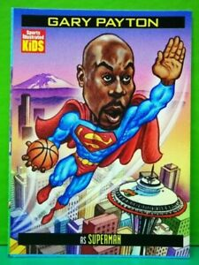 Gary Payton card 1999 Sports Illustrated For Kids #838