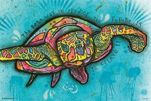 DEAN RUSSO TURTLE ART POSTER 24x36-11145