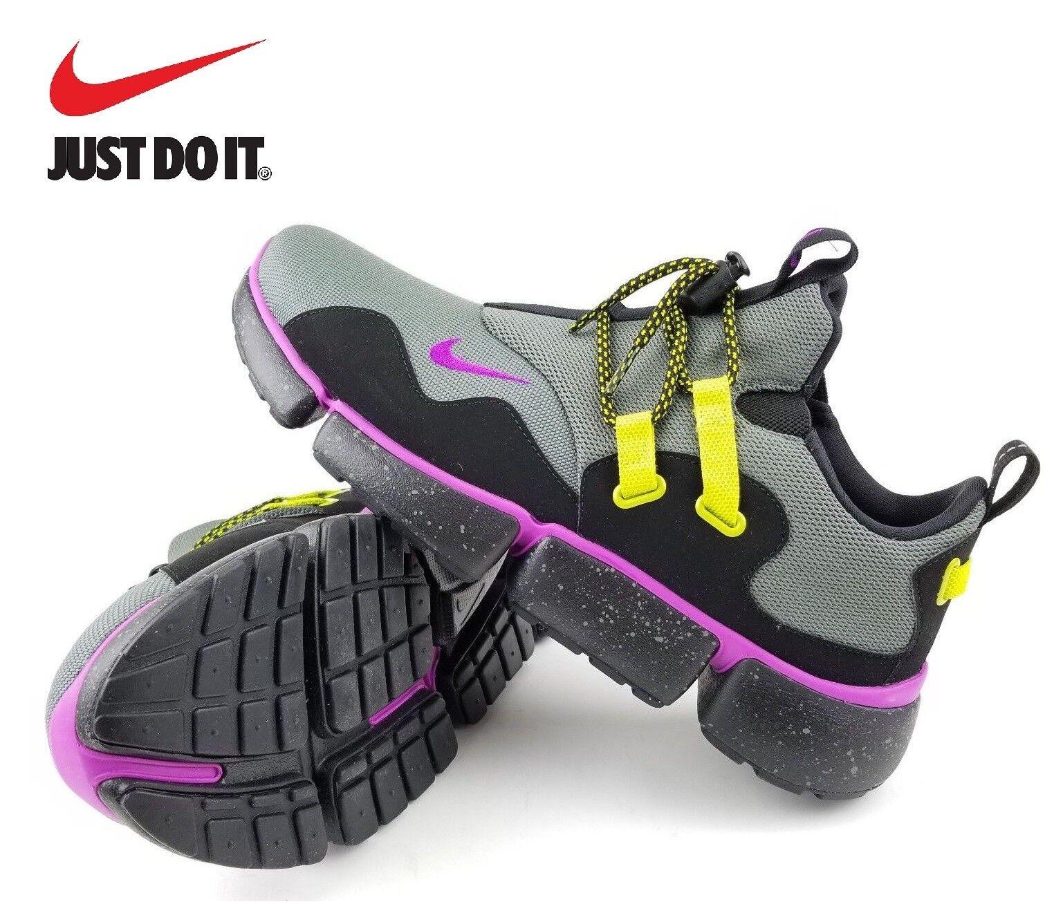 NIKE - Pocketknife DM SU Violet/Nero Athletic Shoes/ Uomo 7.5 NEW+BOX