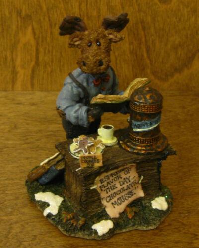 Boyds First Moose Troop #36900 Mr Mocha Java Mooselbean...Double Shot NEW//Box