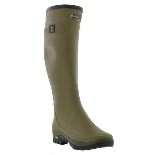 Le Chameau Country Vibram Damenschuhe Damenschuhe Damenschuhe Damenschuhe Grün Wellies Rain Stiefel Größe UK 4-8 5c988c