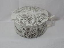 Antique 1800's Porcelain Bowl Brown Moore Leason & Co Chamber Pot