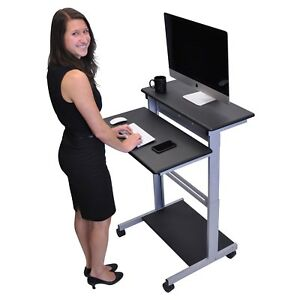 Mobile-31-5-inch-Stand-Up-Computer-Desk-in-Black
