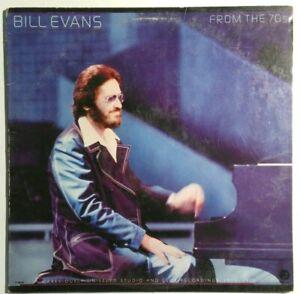 BILL-EVANS-From-the-70-039-s-1973-1977-JAZZ-LP-FANTASY-F-9630-Vinyl-Record