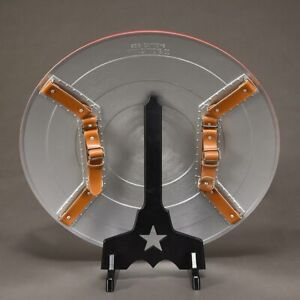 CATTOYS-Black-PVC-Display-Stand-for-1-1-Avengers-Captain-America-Shield