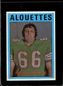 1972-O-PEE-CHEE-CFL-16-TED-COLLINS-EX-X2115