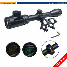 3-9X40EG Rangefinder Mil-Dot Reticle Illuminated Riflescope with Mount Hunting