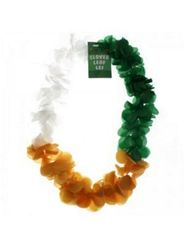 L/'Inde Drapeau Couleurs orange blanc fleur verte Guirlande Coupe du Monde de Cricket