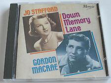 Jo Stafford & Gordon Macrae - Down Memory Lane (CD Album) Used Very Good