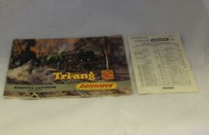 TRIANG  RAILWAYS CATALOGUE EIGHTH EDITION R.280 1962 COMPLETE WITH PRICE LIST