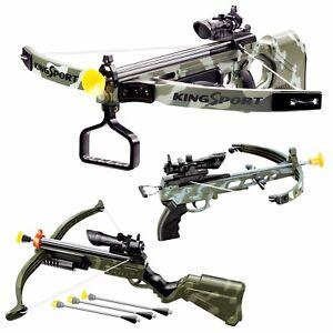 Ninos-Infrarrojo-Ballesta-Pistola-Juego-Con-Arrows-Objetivo-Arco-Juguete-Regalo