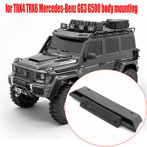 Front Upper Bumper with Screws for TRX-4 TRX6 Benz 6x6 G63 G500 Upgrade Parts