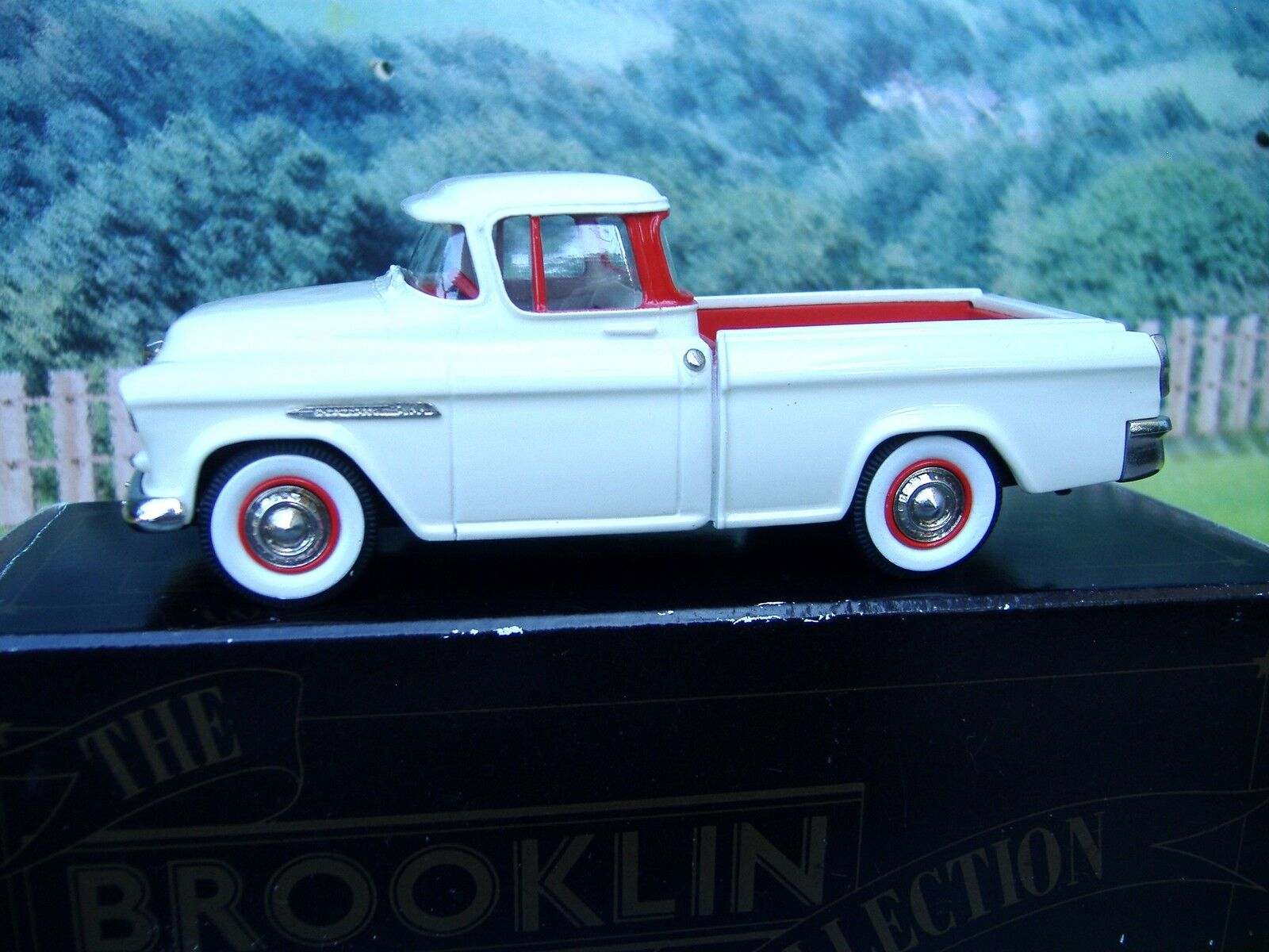 1 43 BROOKLIN MODELS (Angleterre) 1955 CHEVROLET CAMEO