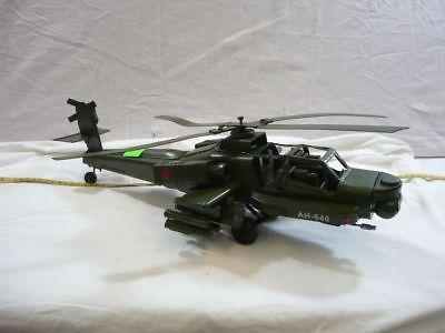 """Spielzeug Blechspielzeug Dekomodell """" Ah640 """" Metall Handarbeit Viele Details Hubschrauber Ehrlich Helikopter"""