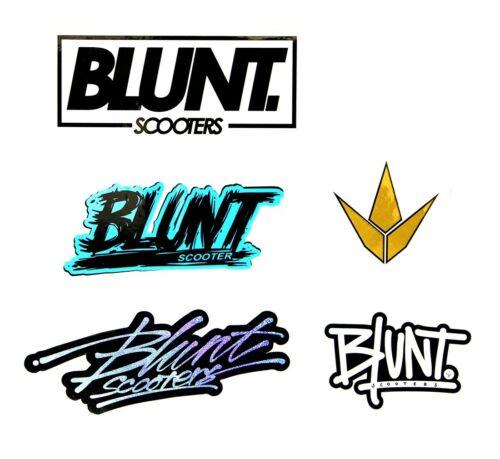 5 Stickers Blunt Envy Scooters Autocollant Paquet
