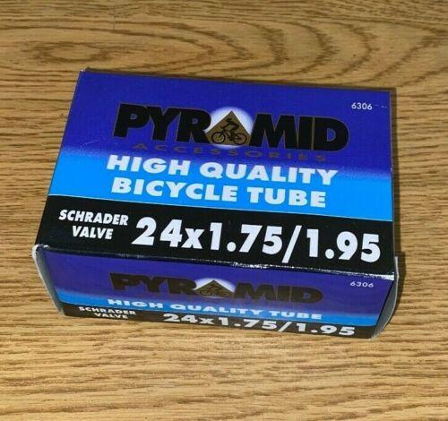 PYRAMID HIGH QUALITY Bicycle Tire Inner Tube 24x1.75-1.95 24 x 1.75