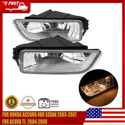 Car Fog Light Wire Harness Switch Kit for Honda Accord 4DR Sedan Acura TL  03-07 | eBayeBay