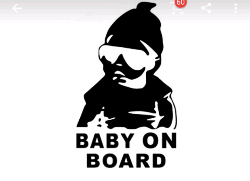 Baby on board stickers for sale.