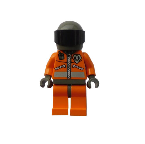 Lego Küstenwache Mann mit Helm Coast guard world city wc013 Neu
