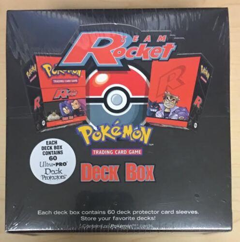 QTY AVAIL 2000 Pokemon Team Rocket Deck Box Display Factory Sealed