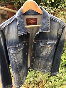 New All For Jacket Men's Medium Mankind Size Denim 7 AwAEHqcCf