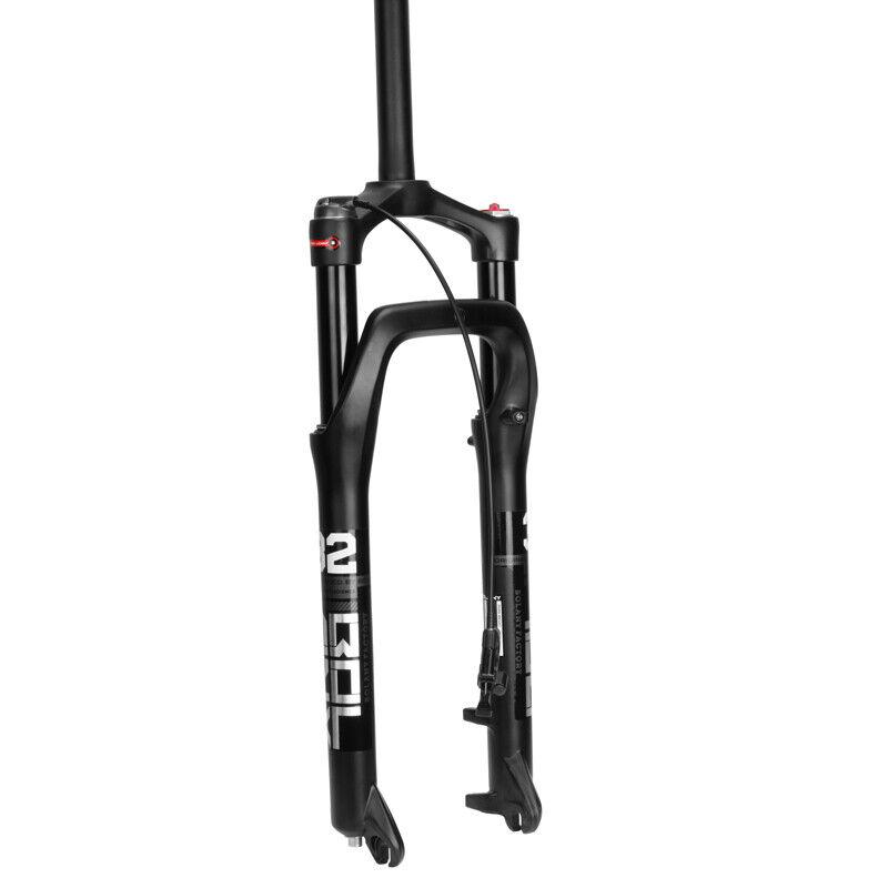 Horquillas de suspensión de aleación BOLANY para 4.0  26 horquilla para bicicleta de montaña nieve neumático grasa Gran