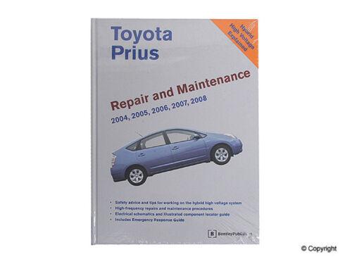 Bentley Repair Manual fits 2001-2008 Toyota Prius  WD EXPRESS
