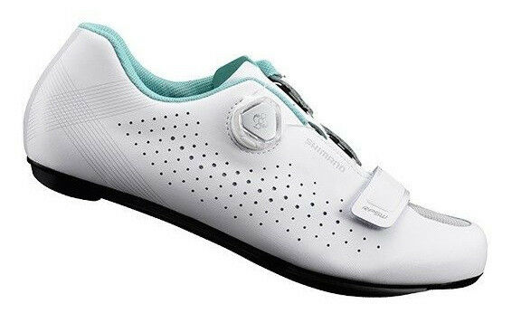Shimano 2018 RP5 Women's Carbon Boa Road Bike Cycling shoes White - 41 (US 8.5)